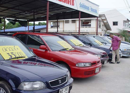 การเลือกซื้อรถยนต์มือสอง