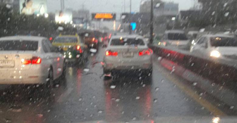 ทำไมฝนตกรถติด รูปที่-3-2