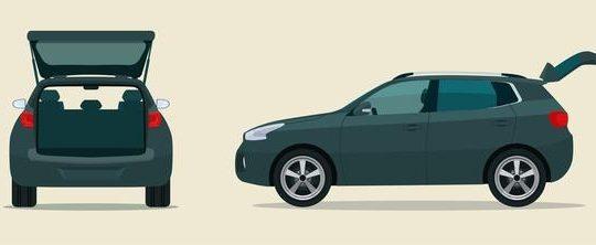 Crossover กับ SUV