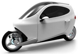 """""""Lit C-1"""" นวัตกรรมรถยนต์ พลังงานฟ้า 2 ล้อ"""