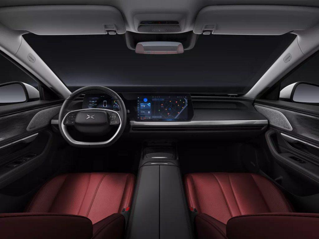 """Xpeng P7"" รถยนต์ไฟฟ้า"